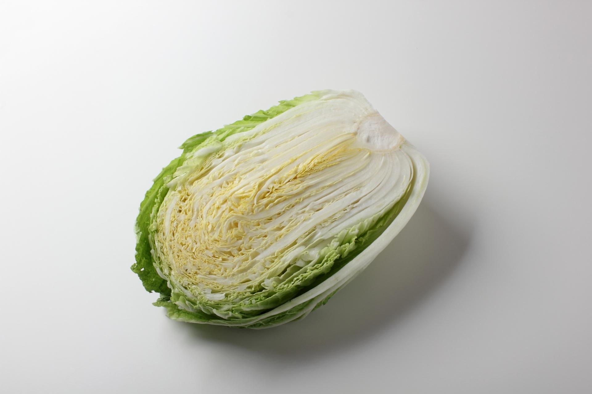 白菜カット