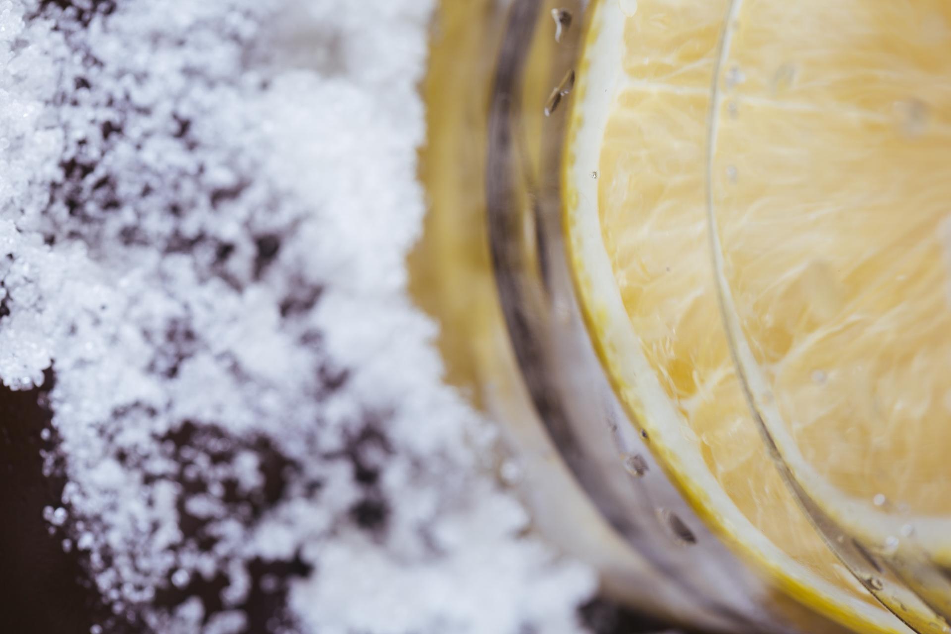 砂糖レモン