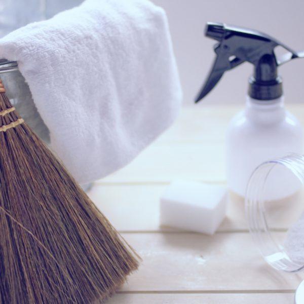 酢と塩でできる家中の大掃除の知恵