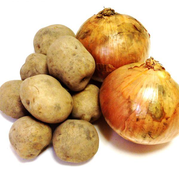 タマネギとジャガイモの昔ながらの美味しいコツ