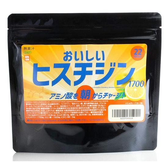 おいしいヒスチジン 1700㎎ + ビタミンB6×22包