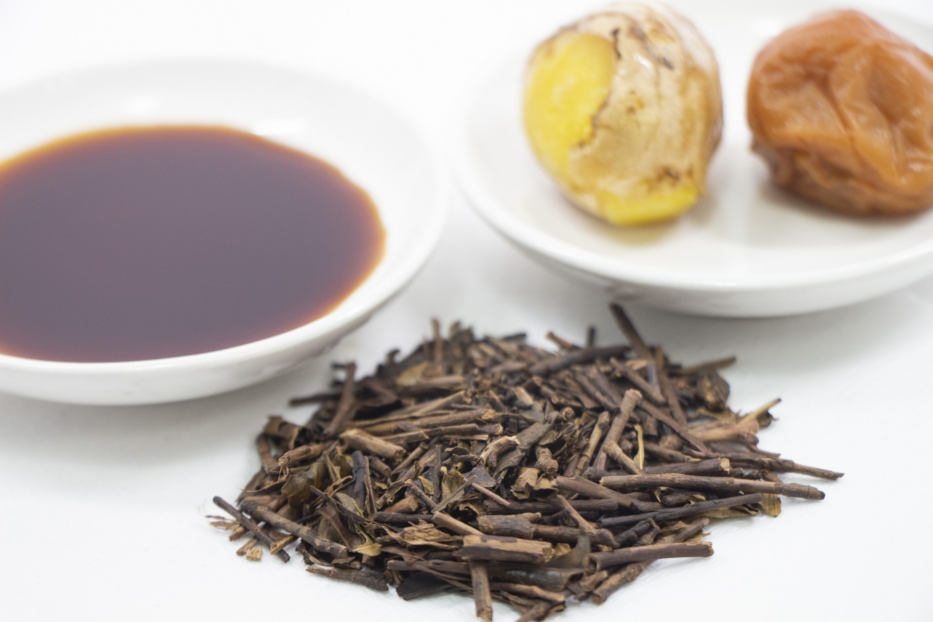 梅干し醤油番茶